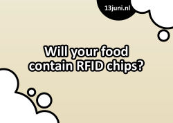Will your food contain RFID chips?